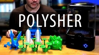 Polymaker Polysher Review - 3D Printing with No Layer Lines using Polysmooth?