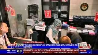 Tim Jokowi-JK Serahkan Dokumen Kesimpulan ke MK