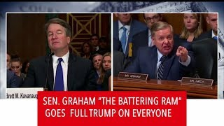 Senator Lindsey Graham 'The Battering Ram'  Is Clearly Fed Up With The Kavanaugh Accusations