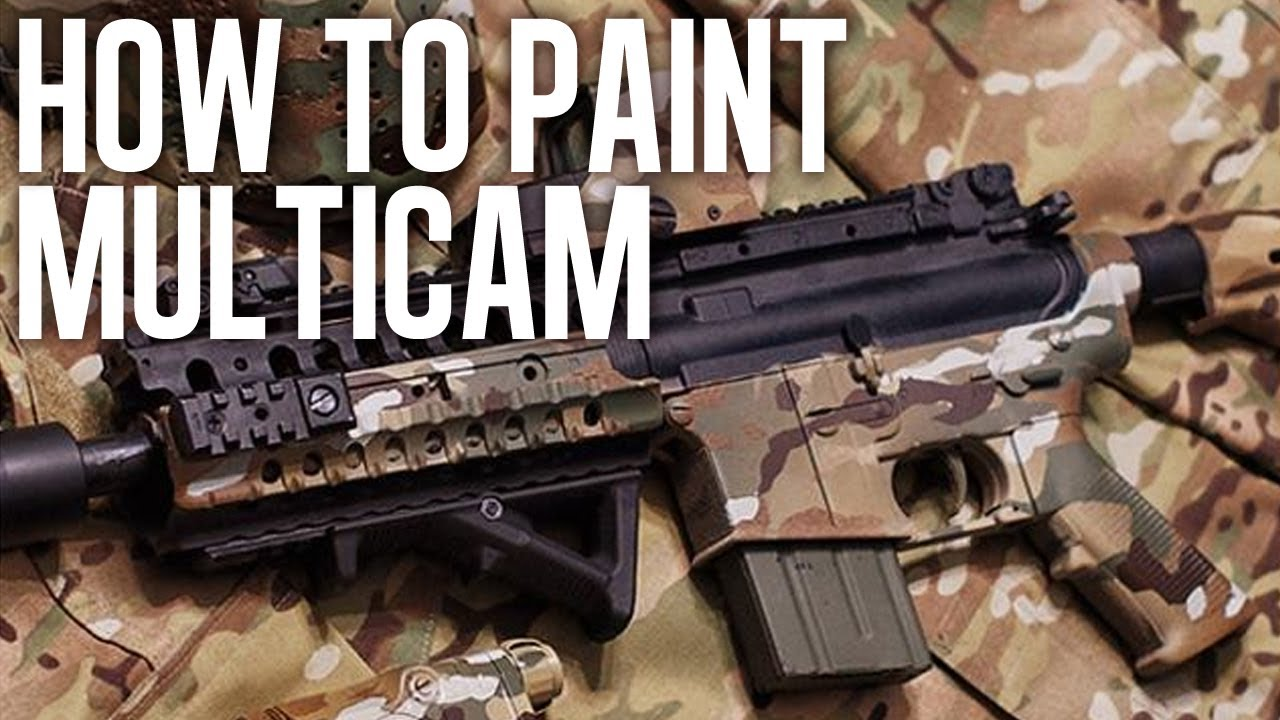 how to spray paint multicam legit youtube. Black Bedroom Furniture Sets. Home Design Ideas