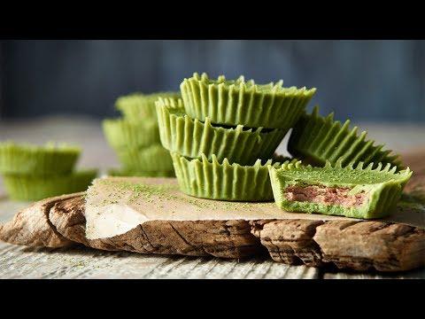 Organic Matcha Almond Butter Cups Recipe