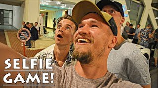 Selfie Challenge ft. Lewis Hamilton & Joe Sugg!!