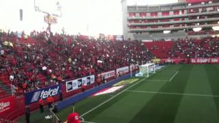 Alineacion de Xolos De Tijuana (Estadio Caliente)