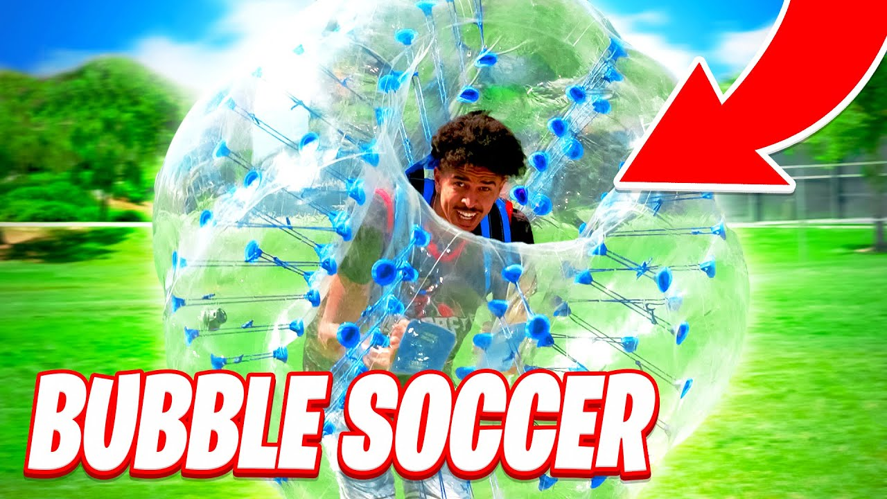 2Hype Plays Soccer in a (Literal) Bubble