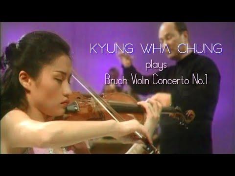 Kyung Wha Chung plays Bruch violin concerto No.1  (1974)