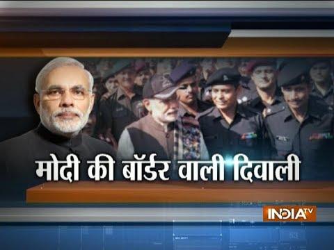 PM Narendra Modi reaches JK's Gurez sector to celebrate Diwali with jawans