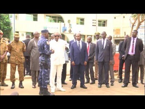 Burkina faso, VISITE DU PRÉSIDENT ALPHA CONDÉ