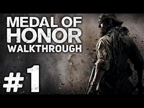 Прохождение Medal of Honor 2010 - Часть #1 - Введение: ПЕРВЫЙ, ПОШЕЛ! [Отряд «Нептун»]