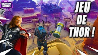I'm Cursed, Legendary Weapon Thor Game! Fortnite Saving the World