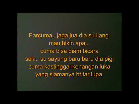 Kenangan luka, with lirik. #laguambon #ambonmanise
