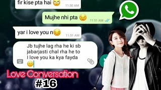 True love conversation in hindi || Bf Gf love