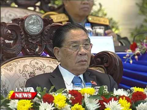 Lao NEWS on LNTV: New Party Central Committee elected to further lead national protection.22/1/2016