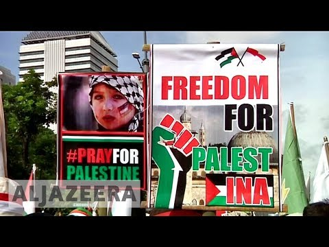 From Syria to Indonesia: Protests over Jerusalem spread