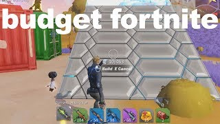 When you can't afford Fortnite so you play this game..