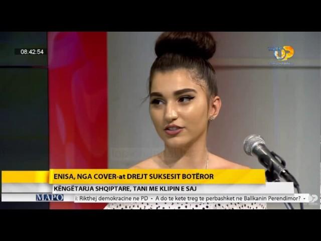 Shqiptarja nga Tuzi Enisa Nikaj nga cover-at drejt suksesit botëror