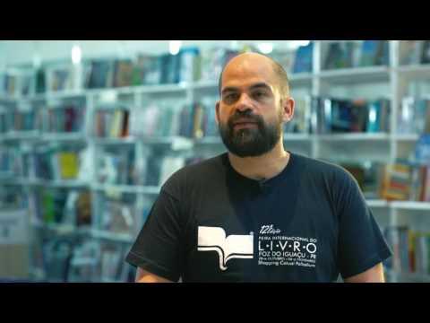 FEIRA DO LIVRO 2016 - REPÓRTER RUBENS ALEXANDRE - PROGRAMA CAMINHOS DO OESTE