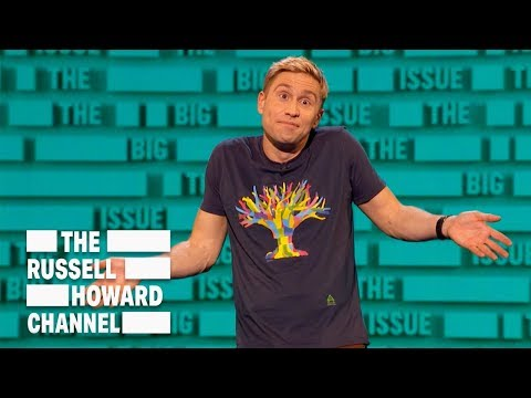 You know climate change is bad when even terrorists are doing their bit - The Russell Howard Hour