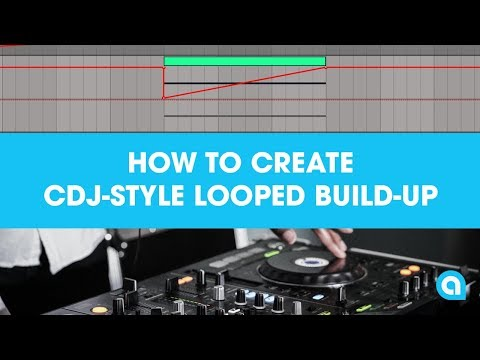 How To Create CDJ-Style Looped Build-Up [1 Minute Ableton Tutorial]