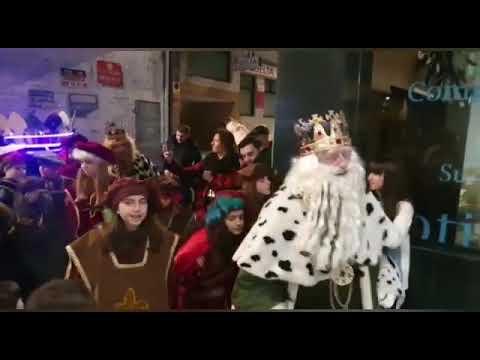 Los Reyes Magos visitan Diario de Pontevedra