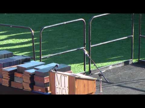 Mt. Eden High School Graduation Ceremony 2012 (part 1)