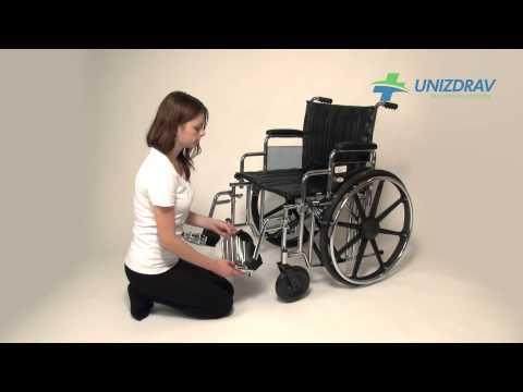 Mechanický invalidný vozík - pre obéznych - www.UNIZDRAV.sk