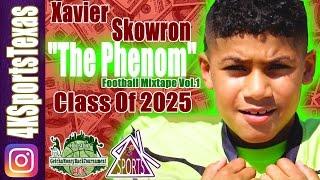 "Xavier ""The Phenom"" Skowron: Makes It Look Easy!!!! Beast Mode Football Class of 2025"