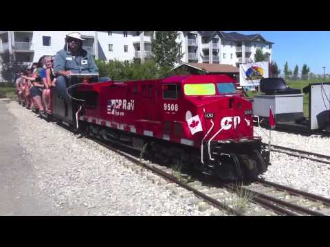Ironhorse Park Miniature Train Ride - Airdrie, Alberta