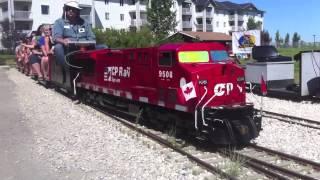 Ironhorse Park Miniature Train Ride - Airdrie, Alberta
