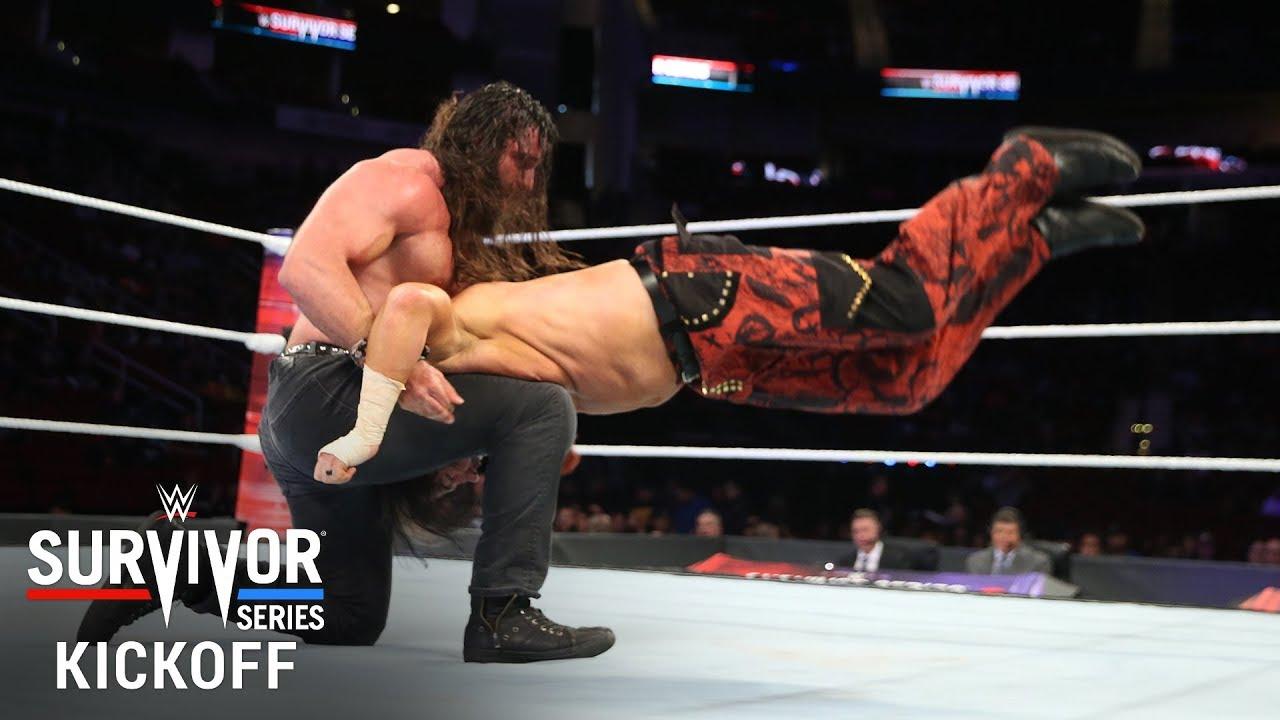 Matt Hardy takes control against Elias: Survivor Series 2017 Kickoff Match - YouTube