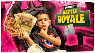 LE DOY 100€ A ARES POR CADA KILL EN FORTNITE!!
