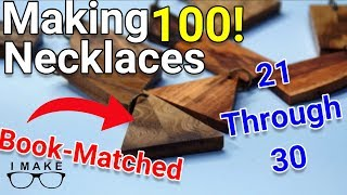 MAKING 100 NECKLACES | Part Three