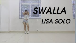 "LISA(BLACKPINK) - ""SWALLA"" Bangkok Dance Solo _ Dance Cover by Miu Miu"