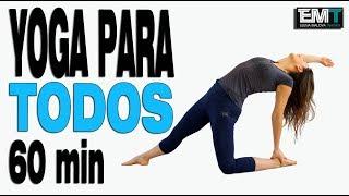 Yoga Dinámico para TODOS | 60 min todo cuerpo | Día 15 Cuerpo Perfecto en 4 semanas