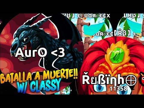 BATALLA A MUERTE!! w/ Classy | Agar.io | Rubinho vlc