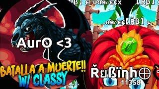 BATALLA A MUERTE!! w/ Classy   Agar.io   Rubinho vlc