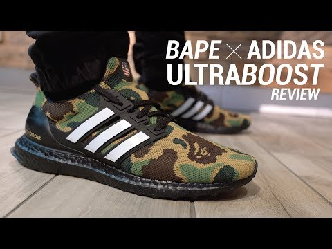 Bape x Adidas Ultra Boost Review & On Feet