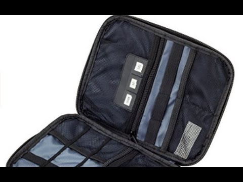 DOT-01 Smart Electronics Organizer Travel Case for Cable, Cord