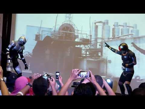 Jakarta Battle of The Toys 2016 - Kamen Rider Black and
