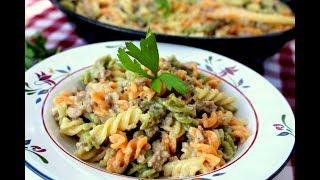 La receta de macarrones que mas les gustará a los niños ¡FACIL Y DELICIOSA!
