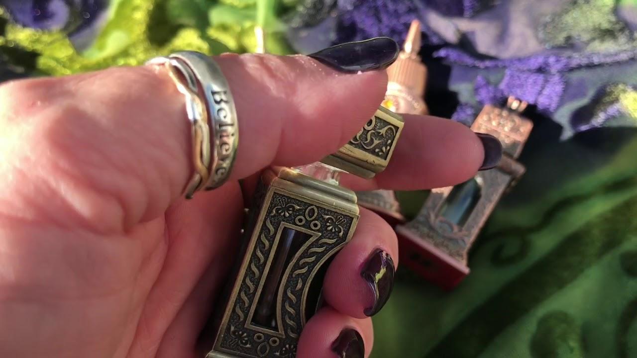 Sage Goddess - Egyptian Perfume Bottles from Tucson