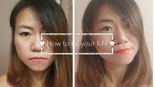 How to fix your resting b face, rbf makeup, 微笑唇画法