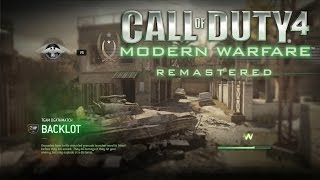 Call of Duty Modern Warfare Remastered Multiplayer Gameplay - Quick Scope These Nuts