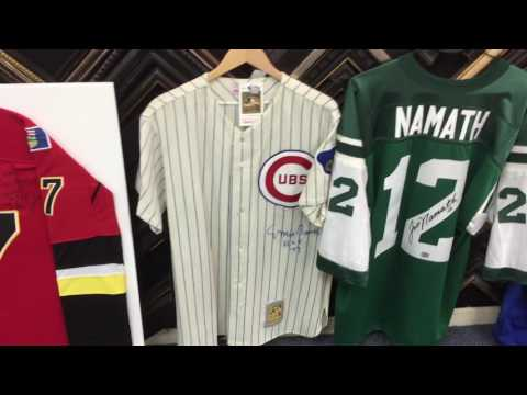 Jersey Madness at Accent Picture Framing!