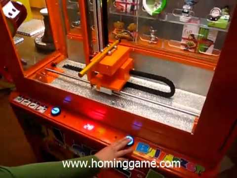 Bulldozer prize game machine/Hot sale Prize Game Machine (sales@hominggame.com)