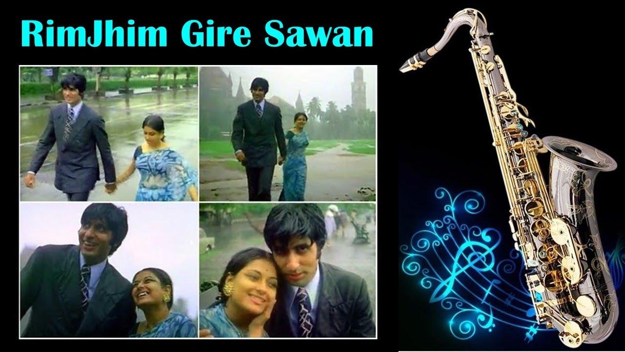 #604: RimJhim Gire Sawan -Saxophone Cover| Manzil| Kishore Kumar| R.D. Burman| Best Bollywood Cover