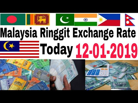 Malaysia Ringgit Exchange Rate Today | 12 January 2019 | Today Ringgit Exchange Rate India Pakistan