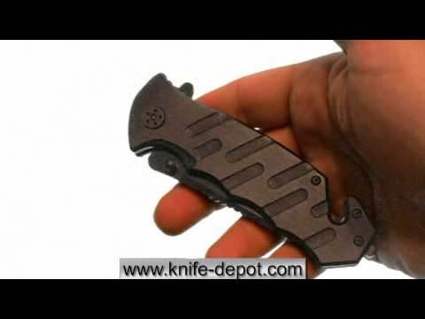 Tough Stainless Spring Assisted Tactical Rescue Pocket Knife