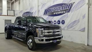 2019 Ford Super Duty F-350 DRW CrewCab Lariat W/ 6.7L Power Stroke Overview | Boundary Ford
