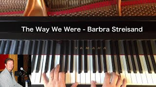 The Way We Were - Barbara Streisand - Piano Cover