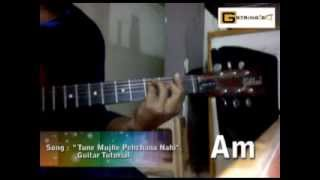 I Tune Mujhe Pehchana Nahin  I Shaan I Raju Chacha I Guitar Tutorial I